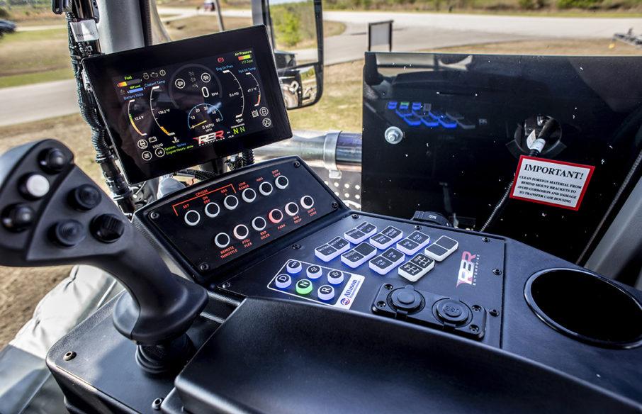 RBR Operator Cab Controls