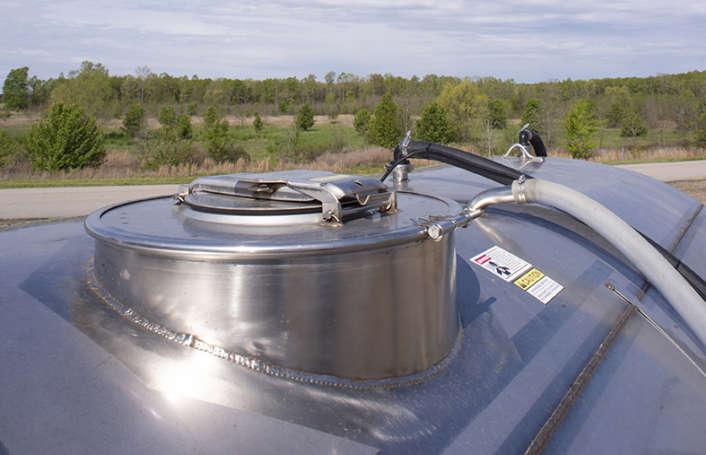 RBR Vortex380 1600 gallon tank